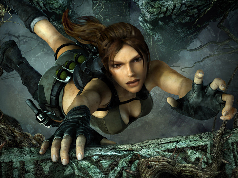 Tomb Raider Underworld poster